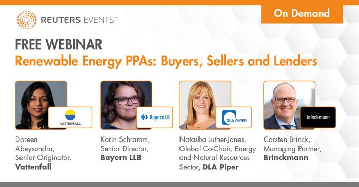 Renewable Energy PPAs: Buyers, Sellers and Lenders