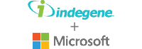 Indegene-Microsoft - Logo