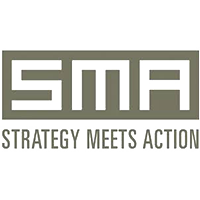 Strategy Meets Action - Logo