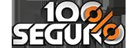 100% SEGURO Logo