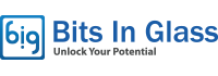 Bits in Glass Logo
