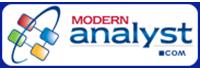 Modern Analyst - Logo