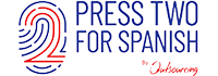 Press 2 For Spanish Logo
