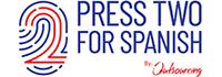 Press 2 For Spanish Logo