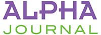 Alpha Journal Logo