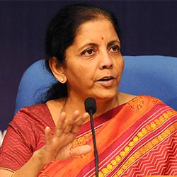 Nirmala Sitharaman - Headshot