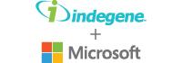Indegene-Microsoft Logo