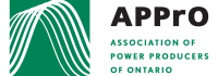 APPrO, Association of Power Producers of Ontario - Logo