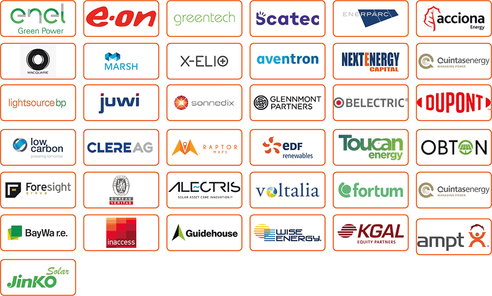 Join these confirmed attendees at PV Operations Europe 2021
