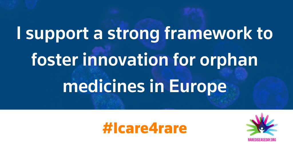 Unlocking innovation and access for rare disease patients in Europe, Monday, 22 February 2021 · 14:00 - 16:00 CET · Online